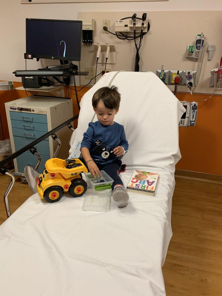 Camrik First ER visit